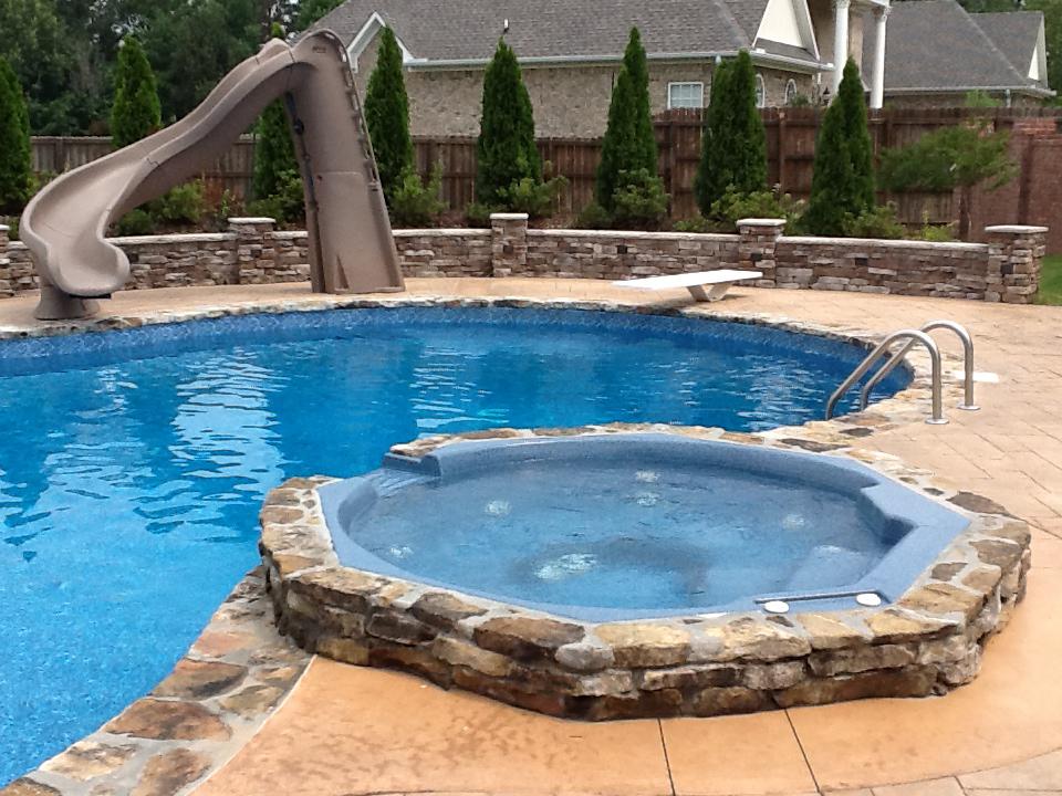 Blue hawaiian pools and spas in jackson tn for Pool design hawaii