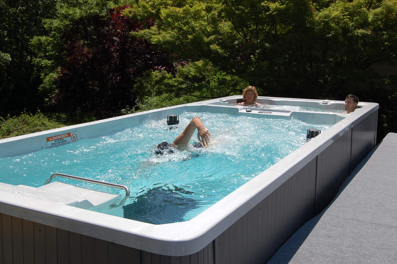 Blue hawaiian pools and spas in jackson tn - How much is an endless pool swim spa ...